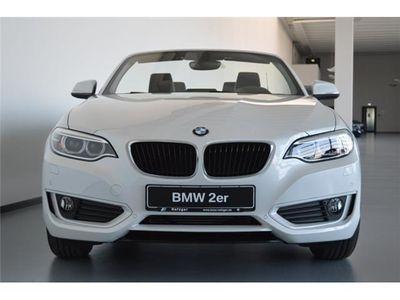 gebraucht BMW 220 d Cabrio Advantage Navi Xenon HiFi USB PDC