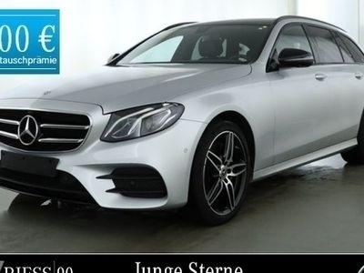 gebraucht Mercedes E220 T 4M AMG Pano Night 360° Smartphone inte