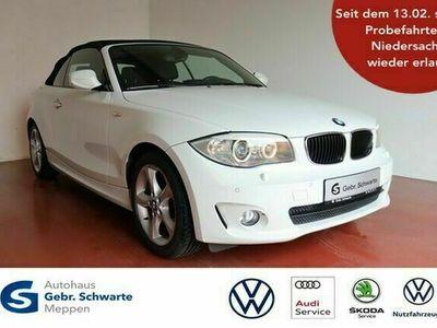 gebraucht BMW 118 Cabriolet d Automatik Navi+Bi Xenon+M-Lenkrad