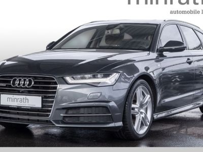 gebraucht Audi A6 Avant 3.0 TDI quattro S line Leder LED Navi AD e-Sitze HUD Kamera