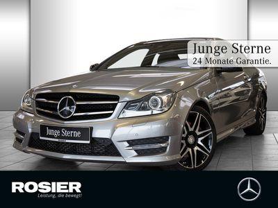 gebraucht Mercedes C250 CDI Coupé Sport AMG Line Distr Xenon Pano