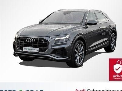 gebraucht Audi Q8 50TDI 3x S line/Matrix/Standhzg/adAIR/ACC/B&O