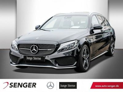 gebraucht Mercedes C43 AMG C 63 AMG Mercedes-AMGT 4M+NAVI+LED+SHZ+TEMPOMAT
