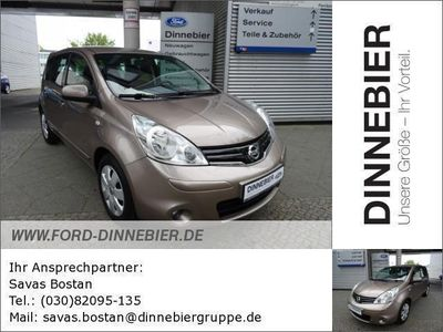 gebraucht Nissan Note acenta (Euro 5) 1.4 Gebrauchtwagen, bei Autohaus Dinnebier GmbH