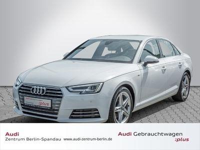 gebraucht Audi A4 Limousine 2.0 TFSI S line *LED*NAVI*GRA*