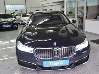gebraucht BMW 740L d xD Lang Entertain Panorama 3xTV NP150T E