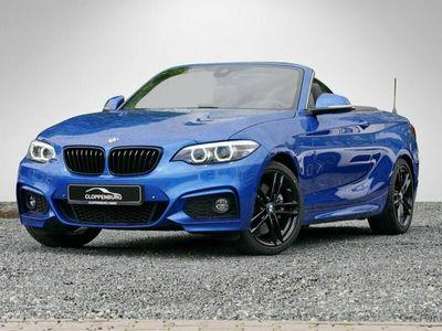 gebraucht BMW 230 i Cabrio M Sportpaket NaviProf RFK Shz Komfortzg -
