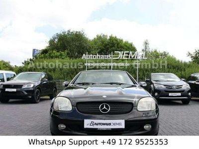 gebraucht Mercedes 320 Roadster SLK 320*Special edition*LEDER*BLACK ALU