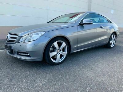 "gebraucht Mercedes E250 CDI Coupé - PANO+AHK+STANDHZ.+18""ALU+XENON als Sportwagen/Coupé in Viernheim"