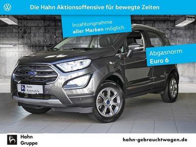 gebraucht Ford Ecosport 1.0 EcoBoost Titanium Navi PDC Sitzhei.