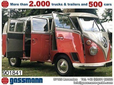 gebraucht VW T1 Samba 21 Fenster Bus, Matching Numbers