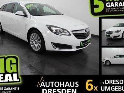 gebraucht Opel Insignia 2.0 CDTI BiXenon Navi Automatik Spurw.