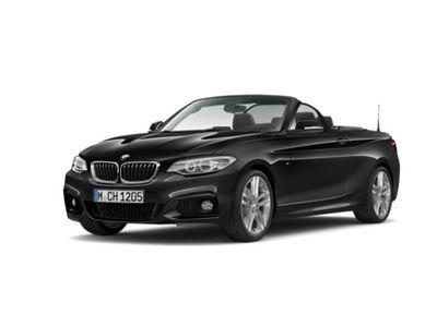 gebraucht BMW 220 d Cabrio (Kurvenlicht Xenon Bluetooth Navi Klima)