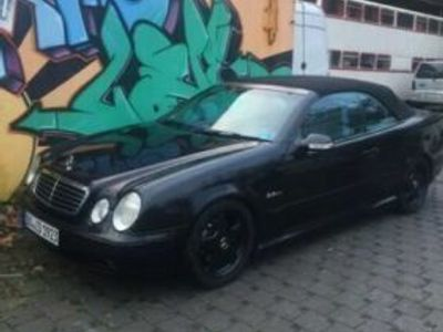 käytetty Mercedes CLK230 AMG