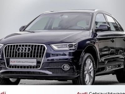 "gebraucht Audi Q3 2.0 TDI S line 6-Gang Navi Xenon Alu 18"""
