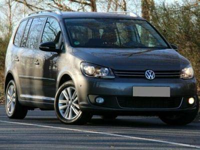gebraucht VW Touran Style 2,0TDI Tempomat Klimaaut. SHZ PDC