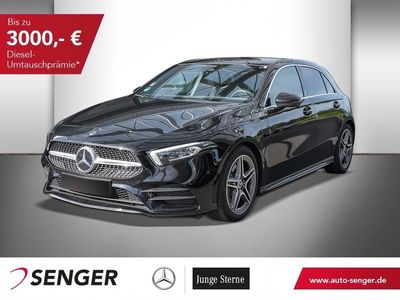 gebraucht Mercedes A220 4M+AMG-LINE+NAVI+BUSINESS+PANO+MULTIBEAM+