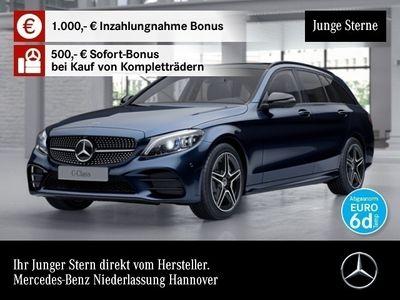 gebraucht Mercedes C400 T 4M AMG 360° Pano Multibeam Burmester