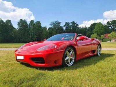 gebraucht Ferrari 360 Modena Spider F 1 lückenlose Historie!
