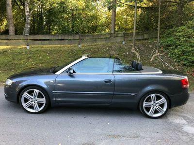 gebraucht Audi A4 Cabriolet 3.0 TDI quattro S-Line