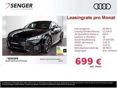 gebraucht Audi TT RS Coupé 400PS S tronic LED Leder Navi+