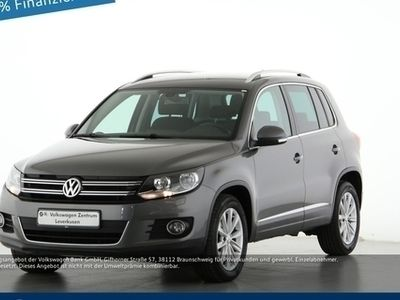 gebraucht VW Tiguan 2.0 LEDER SITZHEIZUNG KLIMA - Leder,Klima,Sitzheizung,Alu,Servo,
