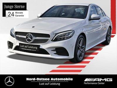 gebraucht Mercedes C200 d AMG LED Navi AHK R-Kamera Sitzhzg.