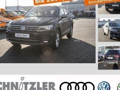 gebraucht VW Tiguan Allspace 2.0 TDI (EU 6d-Temp) DSG Highline 7-Sitzer/AHK/LED/Navi/+++
