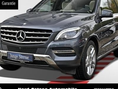 gebraucht Mercedes ML350 BT 4M COMAND Sitzklima Pano ILS Kamera
