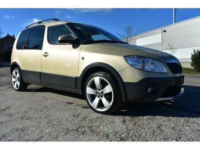 gebraucht Skoda Roomster Scout Plus Edition Sitzheizung Panorama
