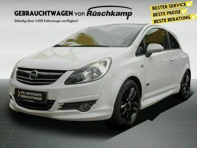 gebraucht Opel Corsa D Color Edition 1.4 Klimaanlage Sportfahrwerk ALU OPC