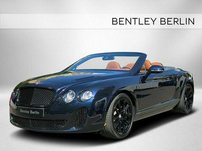 gebraucht Bentley Continental Supersports Cabrio - BERLIN