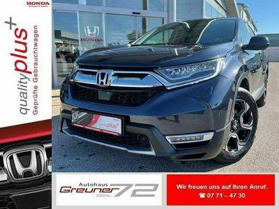 gebraucht Honda CR-V 2.0 i-MMD Hybrid 4WD Eleg. + AHK + Winterräder