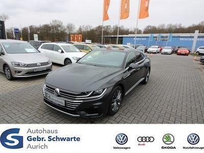 gebraucht VW Arteon 2.0 TDI R-Line 7-Gang-AUTOM StHZG NAVI