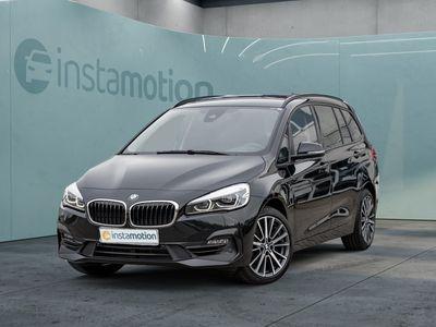 gebraucht BMW 218 Gran Tourer 218 i Sport Line NAVI+LED+SHZ