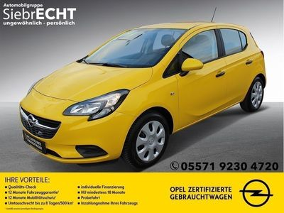 gebraucht Opel Corsa E 1.2 Edition*IntelliLink*Klima*USB*uvm