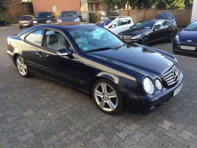 "gebraucht Mercedes CLK430 Coupe V8 "" Rechtslenker """