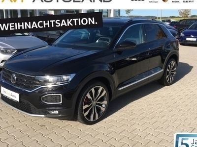 gebraucht VW T-Roc 2.0 TDI BMT DSG | NAVI LED AHK schwarz