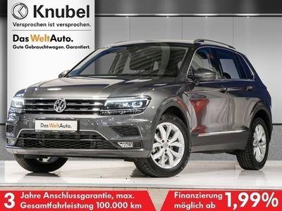 "gebraucht VW Tiguan Comfortline 2.0 TDI JOIN DSG/AHK/LED/NAVI/18""/AREAVIEW/ACC"