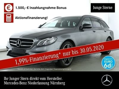 gebraucht Mercedes E300 T AMG Night Kamera LED DigRadio SHZ