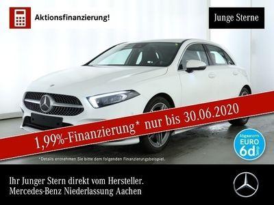gebraucht Mercedes A250 AMG Multibeam Navi Premium Spurhalt-Ass PTS