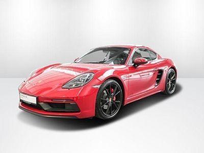 käytetty Porsche 718 CaymanGTS 2.5 Keyless Sportabgasanlage