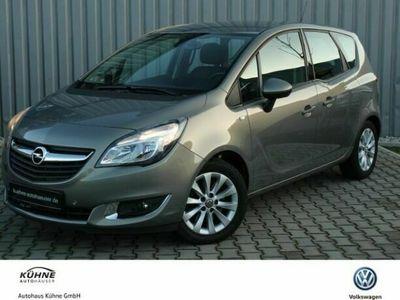 gebraucht Opel Meriva 1.4 Turbo Klima Lenkradhzg. Sitzhzg
