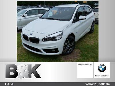 gebraucht BMW 218 Active Tourer d (Navi LED Klima Einparkhilfe el. F