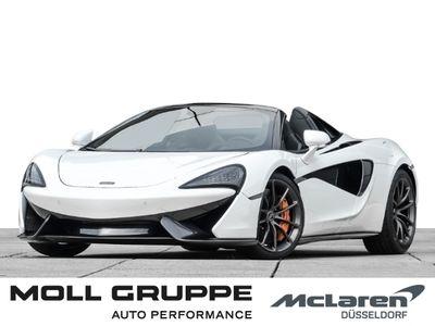 gebraucht McLaren 570S Spider MY18 Silica White, Lux Pack