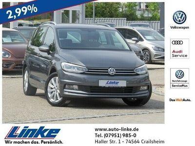 gebraucht VW Touran Highline 1.4 TSI Navi/ACC/AHK/Fahrassistenzpaket