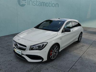gebraucht Mercedes CLA45 AMG CLA 45 AMGSB 4MATIC * 7G-DCT * AMG-EXKLUSIV & NIGHT-PAKET * PANORAMA-DACH * NAVI * R№CKFAHRKAMERA