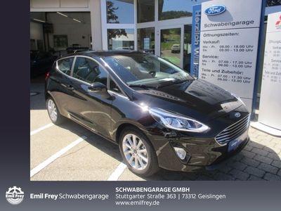 gebraucht Ford Fiesta 1.0 EcoB. Titanium *SHZ*NAVI*RÜCKFAHRKAM.*