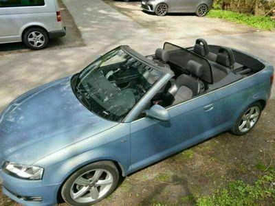 gebraucht Audi A3 Cabriolet 2.0 TDI DPF S tronic Ambition