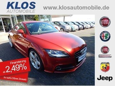 gebraucht Audi TT 1.8 TFSI Coupe S-Line LEDER SHZ XENON 249€mtl